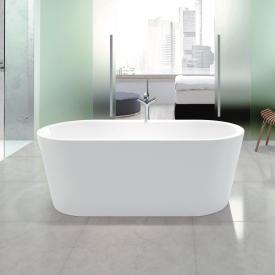 Kaldewei Meisterstück Classic Duo Oval freestanding bath white, with easy-clean finish, with filling function