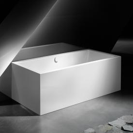 Kaldewei Meisterstück Conoduo 2 back-to-wall bath with panelling with filling function