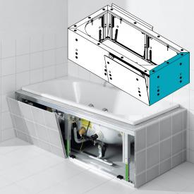 Kaldewei Multiverso panelling system for rectangular whirl bath, side piece 700 mm