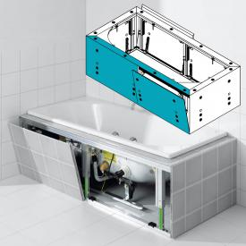 Kaldewei Multiverso panelling system for rectangular whirl baths, long side 1700 mm