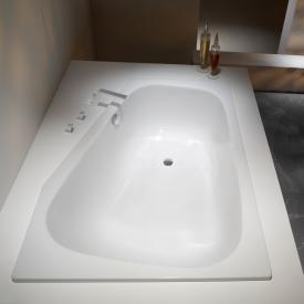 Kaldewei Plaza Duo left corner bath white easy-clean finish