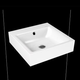Kaldewei Puro hand washbasin white, without tap hole