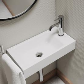 Kaldewei Puro hand washbasin white, with 1 tap hole