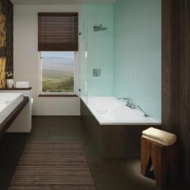 Kaldewei Puro Set Wide corner bath Antislip, white, with easy-clean finish