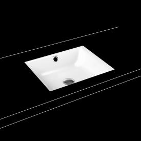 Kaldewei Puro undercounter washbasin without tap hole, with overflow