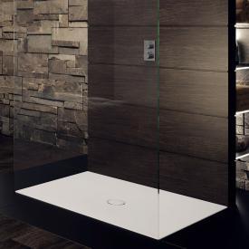 Kaldewei Scona square/rectangular shower tray Secure Plus, matt pearl grey