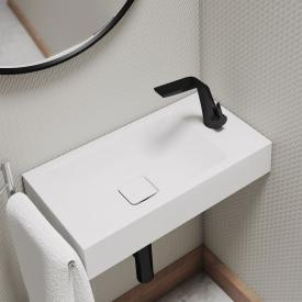 Kaldewei set Cono hand washbasin with Steinberg 260 fitting matt black