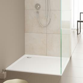 Kaldewei SuperPlan square/rectangular shower tray white, with easy-clean finish