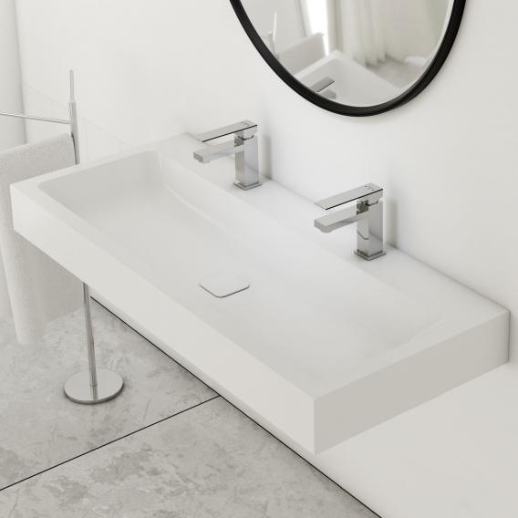 Kaldewei Cono double washbasin with Steinberg 160 fitting