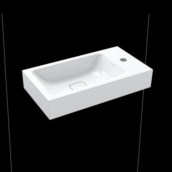 Kaldewei Cono hand washbasin white, with 1 tap hole