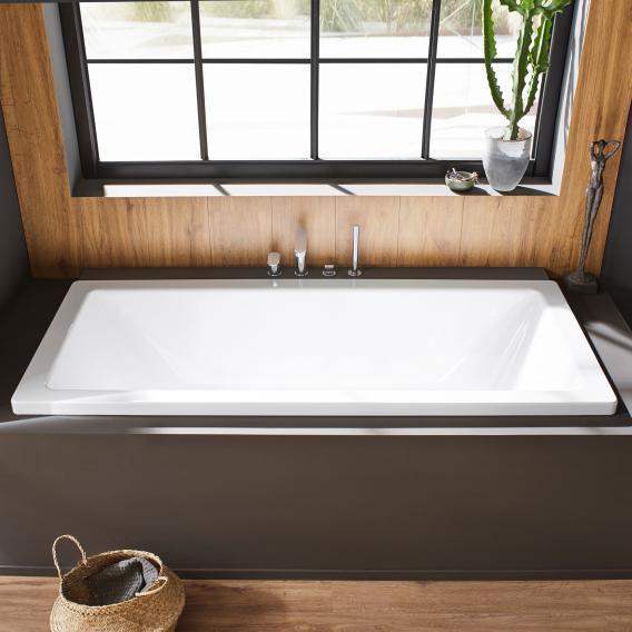 Kaldewei Conoduo rectangular bath white, with easy-clean finish