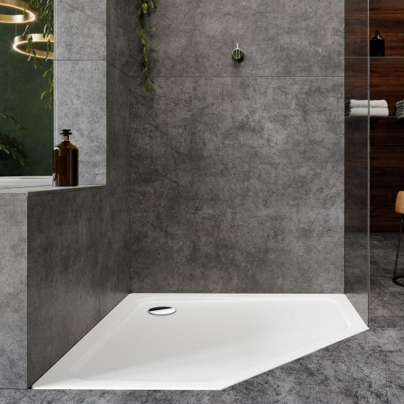 Kaldewei Cornezza pentagonal shower tray white