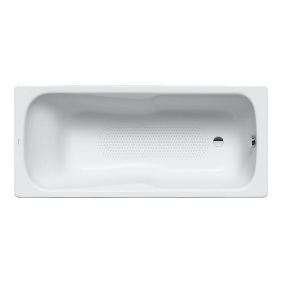 Kaldewei Dyna Set & Dyna Set Star rectangular bath with shower zone full Antislip, white, with easy-clean finish