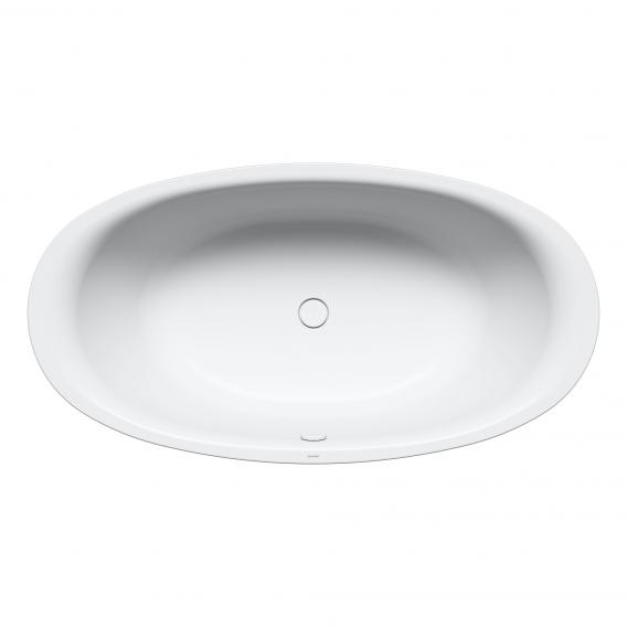 Kaldewei Ellipso Duo oval bath white, with easy-clean finish