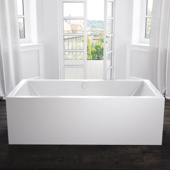 Kaldewei Meisterstück Conoduo freestanding rectangular bath with filling function