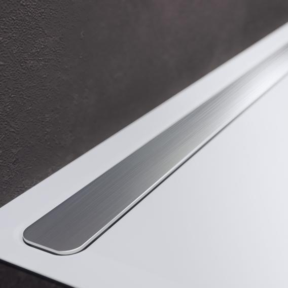 Kaldewei Nexsys design cover brushed stainless steel