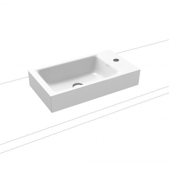 Kaldewei Puro countertop hand washbasin with 1 tap hole