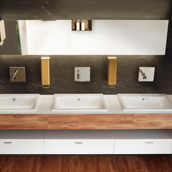 Kaldewei Puro drop-in washbasin with 1 tap hole