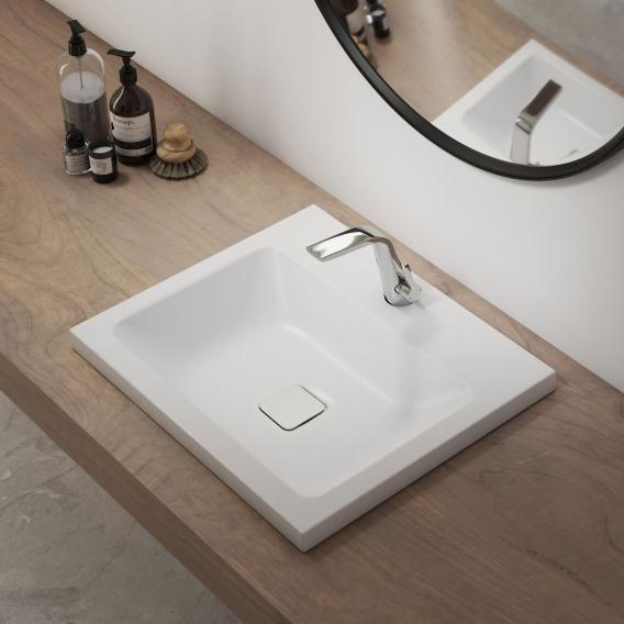 Kaldewei Set Cono drop-in washbasin with Steinberg 260 fitting