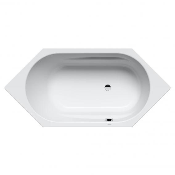 Kaldewei Vaio 6 & Vaio 6 Star hexagonal bath white, with easy-clean finish