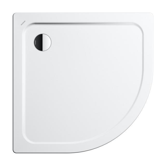 Kaldewei Arrondo quadrant shower tray white, with easy-clean finish
