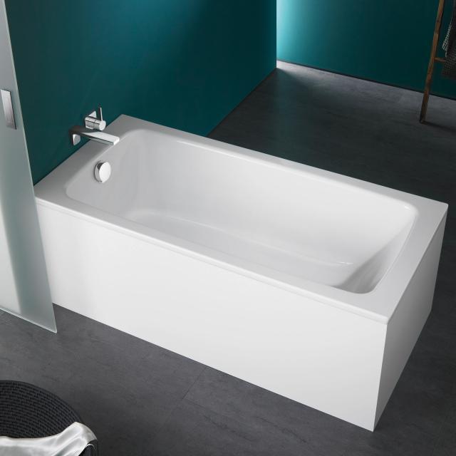 Kaldewei Cayono & Cayono Star rectangular bath, built-in white