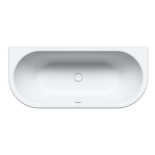 Kaldewei Centro Duo 2 back-to-wall bath, built-in full Antislip, white, with easy-clean finish