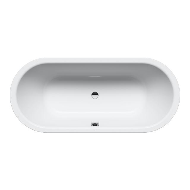 Kaldewei Classic Duo oval bath, built-in white, with easy-clean finish