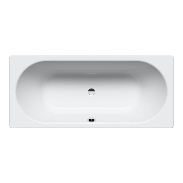 Kaldewei Classic Duo rectangular bath, built-in white, with easy-clean finish