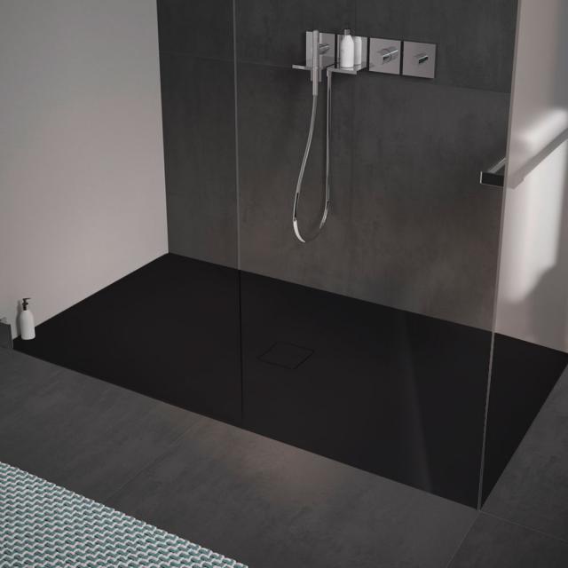 Kaldewei Conoflat square/rectangular shower tray black