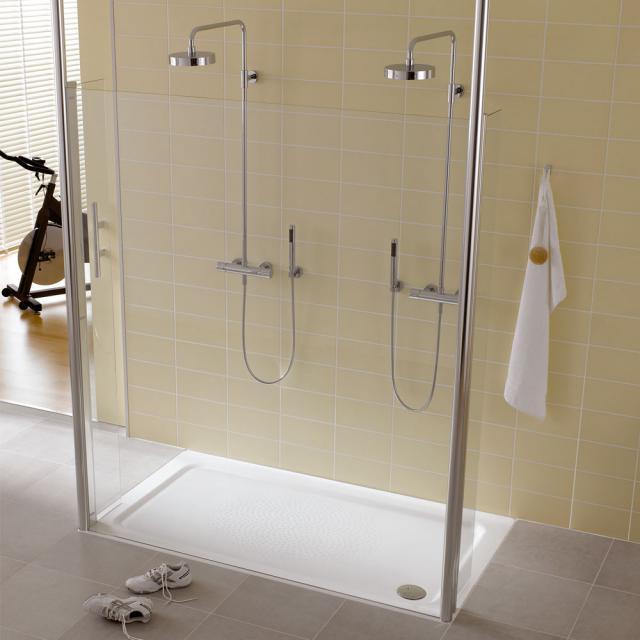 Kaldewei DuschPlan XXL rectangular shower tray white, with Antislip
