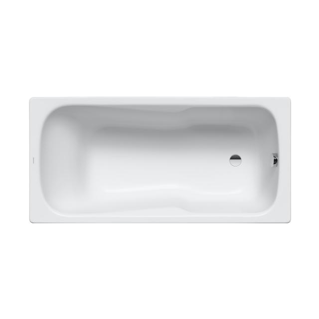 Kaldewei Dyna Set & Dyna Set Star rectangular bath with shower zone, built-in white