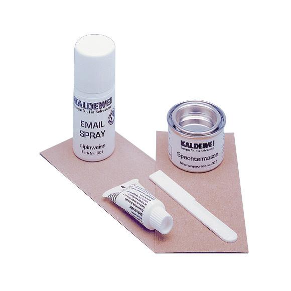 Kaldewei enamel repair set white