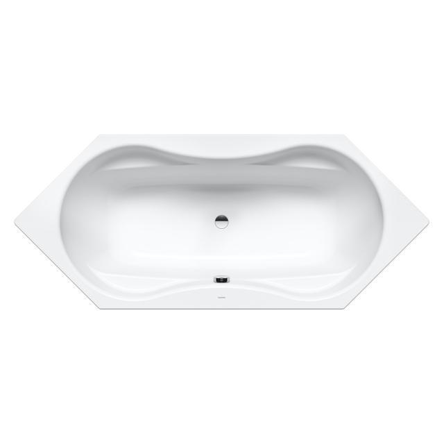 Kaldewei Mega Duo 6 hexagonal bath, built-in white