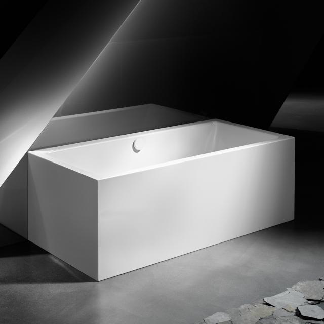 Kaldewei Meisterstück Conoduo 2 back-to-wall bath with panelling without filling function