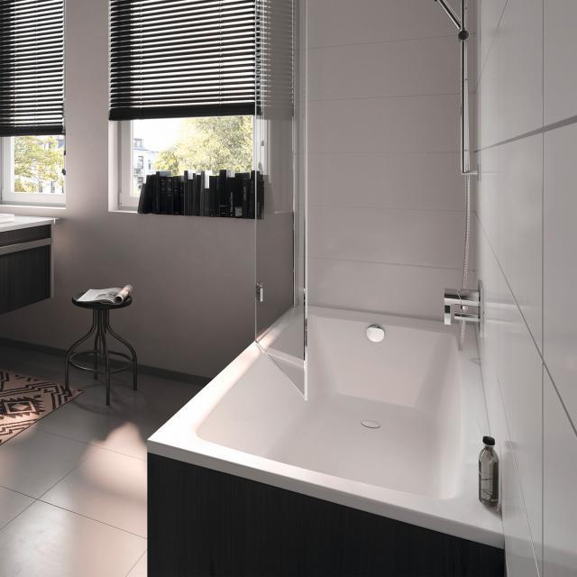 Kaldewei Puro & Puro Star rectangular bath, built-in white, with easy-clean finish