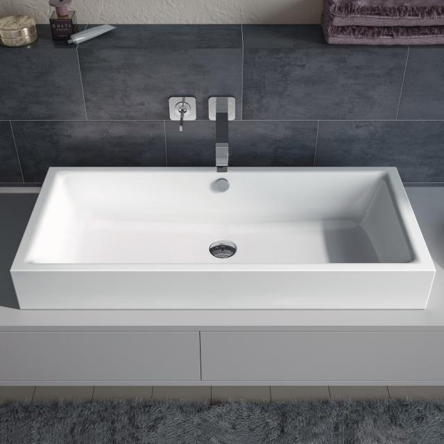 Kaldewei Puro S countertop washbasin white