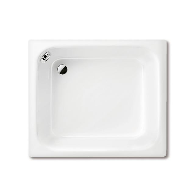 Kaldewei Sanidusch square/rectangular shower tray with overflow white