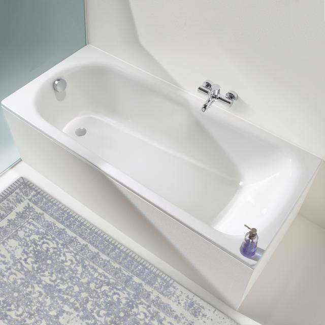 Kaldewei Saniform Plus & Saniform Plus Star rectangular bath, built-in white