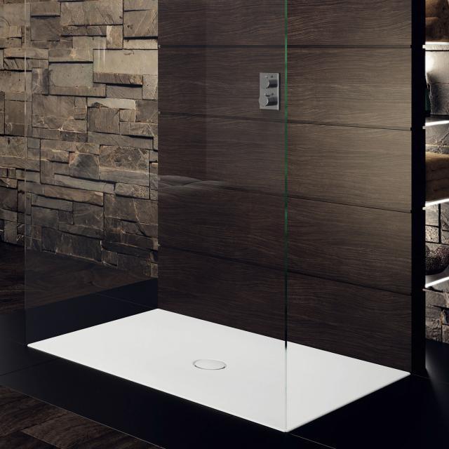 Kaldewei Scona square/rectangular shower tray white