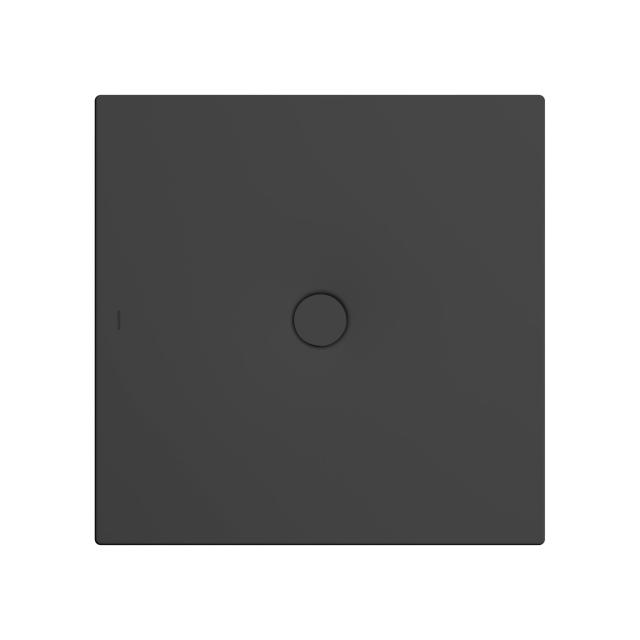 Kaldewei Scona square/rectangular shower tray matt black