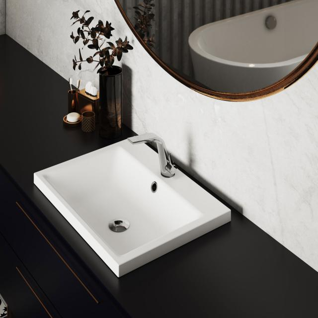 Kaldewei set Puro built-in washbasin with Steinberg 260 fitting
