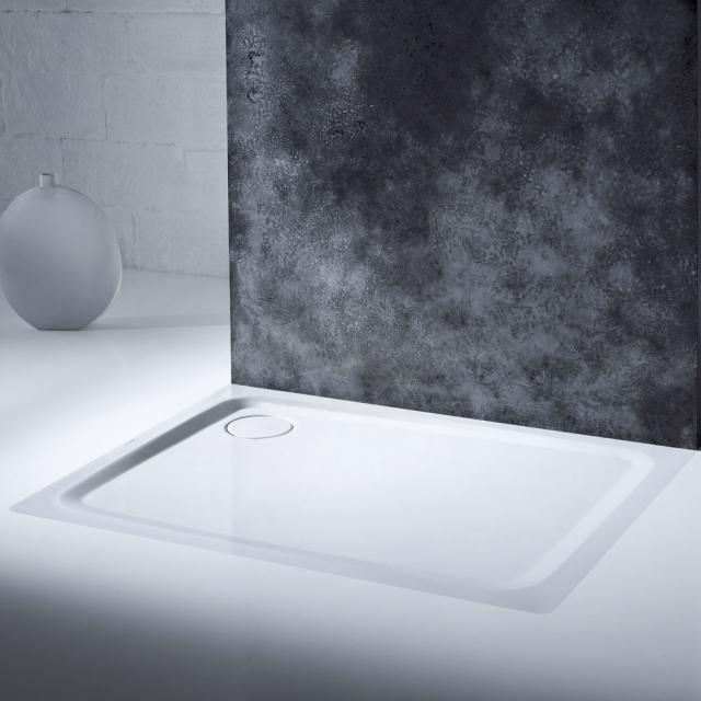 Kaldewei SuperPlan Plus rectangular/square shower tray white, with easy-clean finish