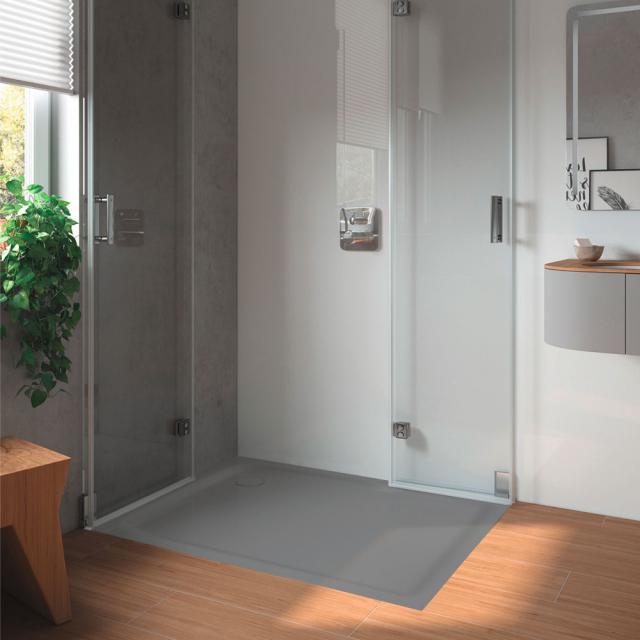 Kaldewei SuperPlan square/rectangular shower tray warm grey 85