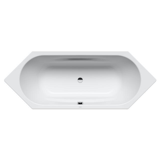Kaldewei Vaio Duo 6 hexagonal bath, built-in white, with easy-clean finish