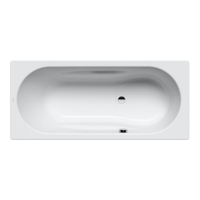 Kaldewei Vaio Set & Vaio Set Star rectangular bath with shower zone, built-in white