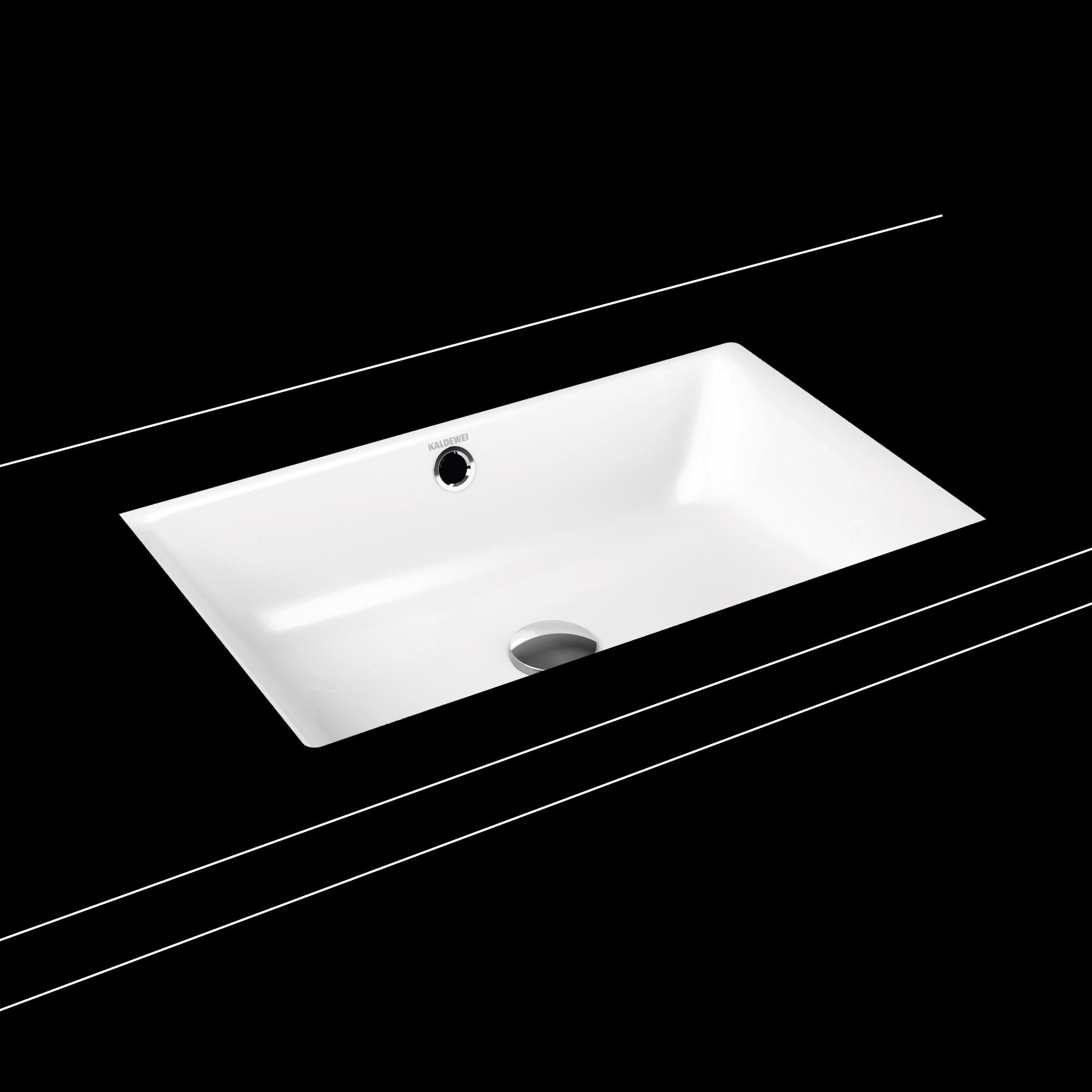 Kaldewei Puro undermount washbasin white