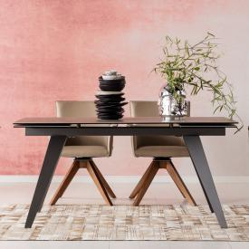 KARE Design Amsterdam dining table with pull-out