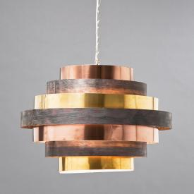 KARE Design Belt Round Coffee pendant light