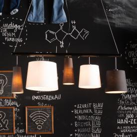 KARE Design Parecchi Black pendant light 5 heads